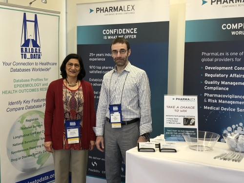 Sharmila and Earl at ICPE in Prague